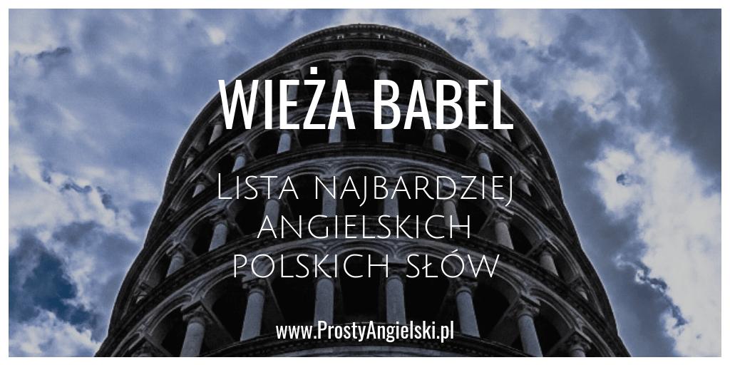 lista angielskich polskich słów
